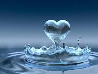água e amor