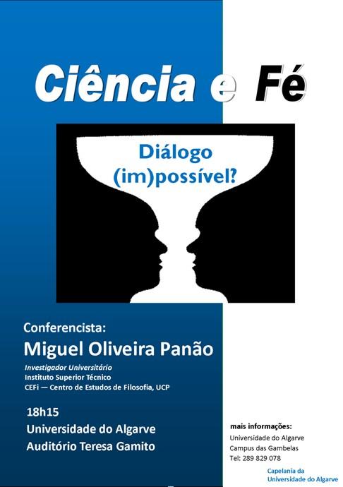Dialogar sobre Fé e Ciência no Algarve